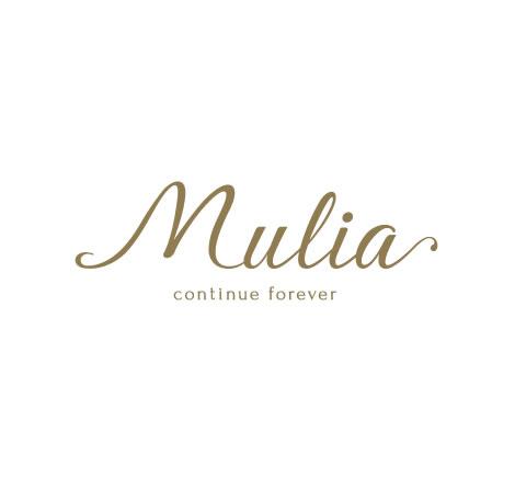 ㈱二葉 様 アクセサリーブランドMuliaブランド|Logo〈ロゴ